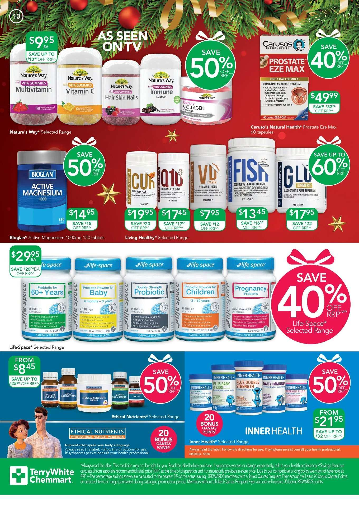 TerryWhite Chemmart catalogue  - 14.11.2019 - 3.12.2019. Page 10.