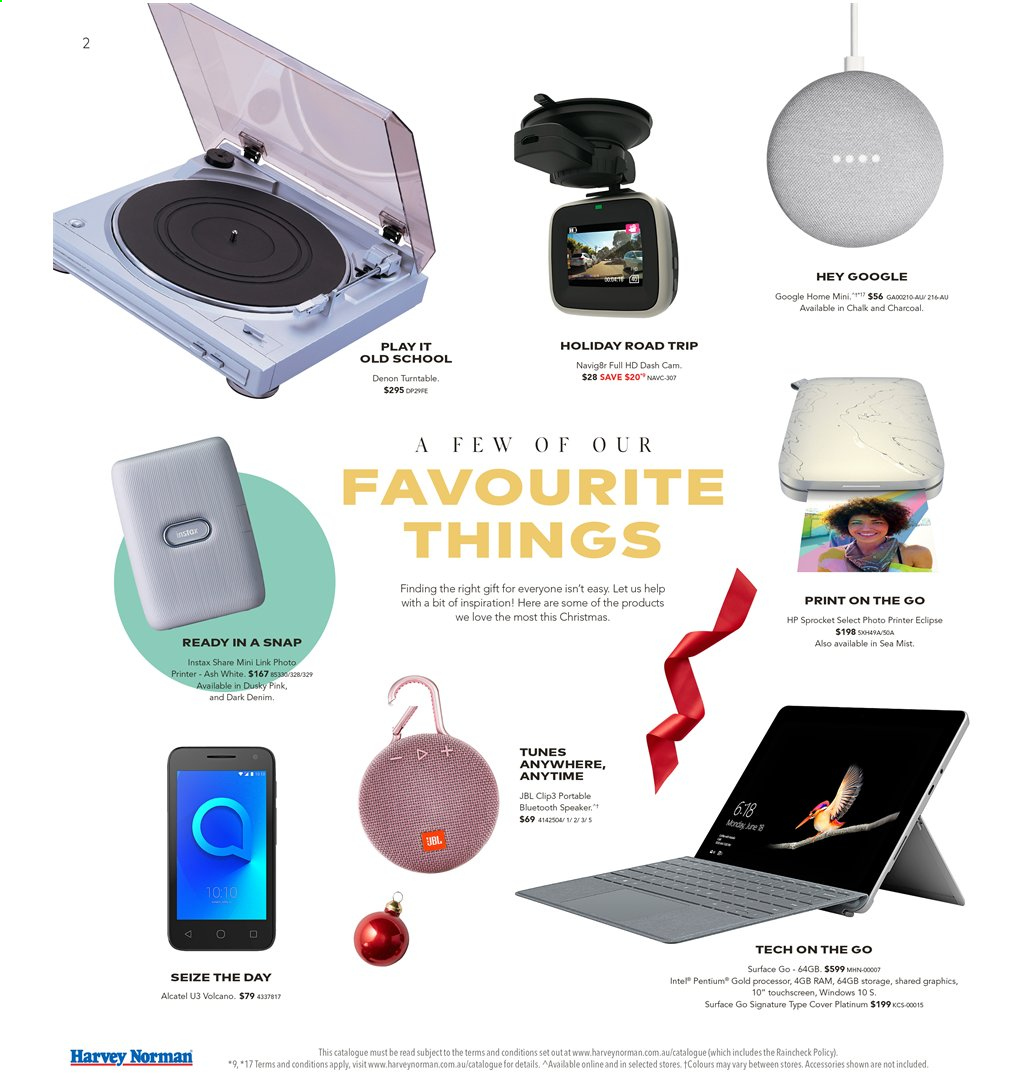 Harvey Norman catalogue  - 15.11.2019 - 1.12.2019. Page 2.