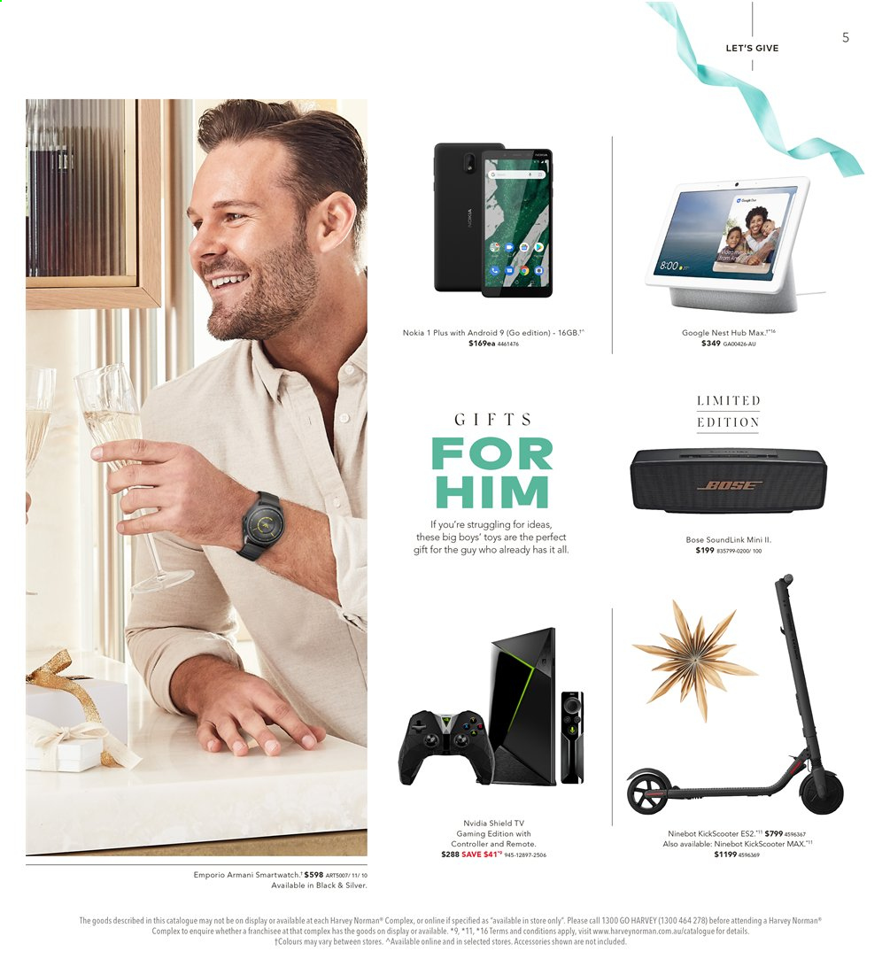 Harvey Norman catalogue  - 15.11.2019 - 1.12.2019. Page 5.