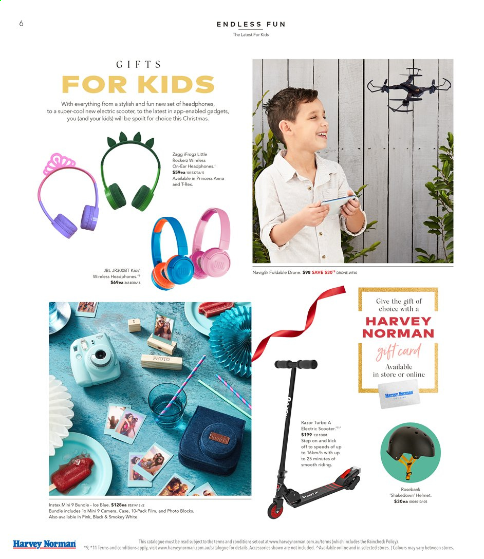 Harvey Norman catalogue  - 15.11.2019 - 1.12.2019. Page 6.