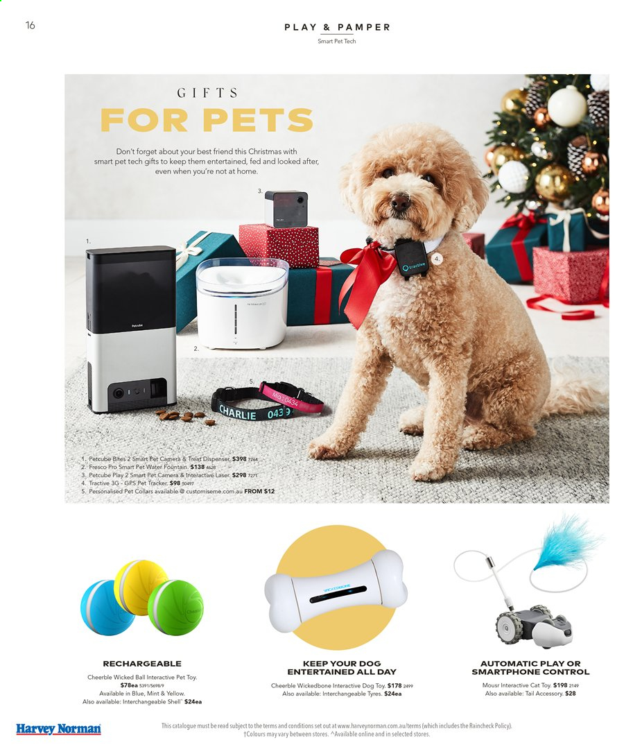 Harvey Norman catalogue  - 15.11.2019 - 1.12.2019. Page 16.