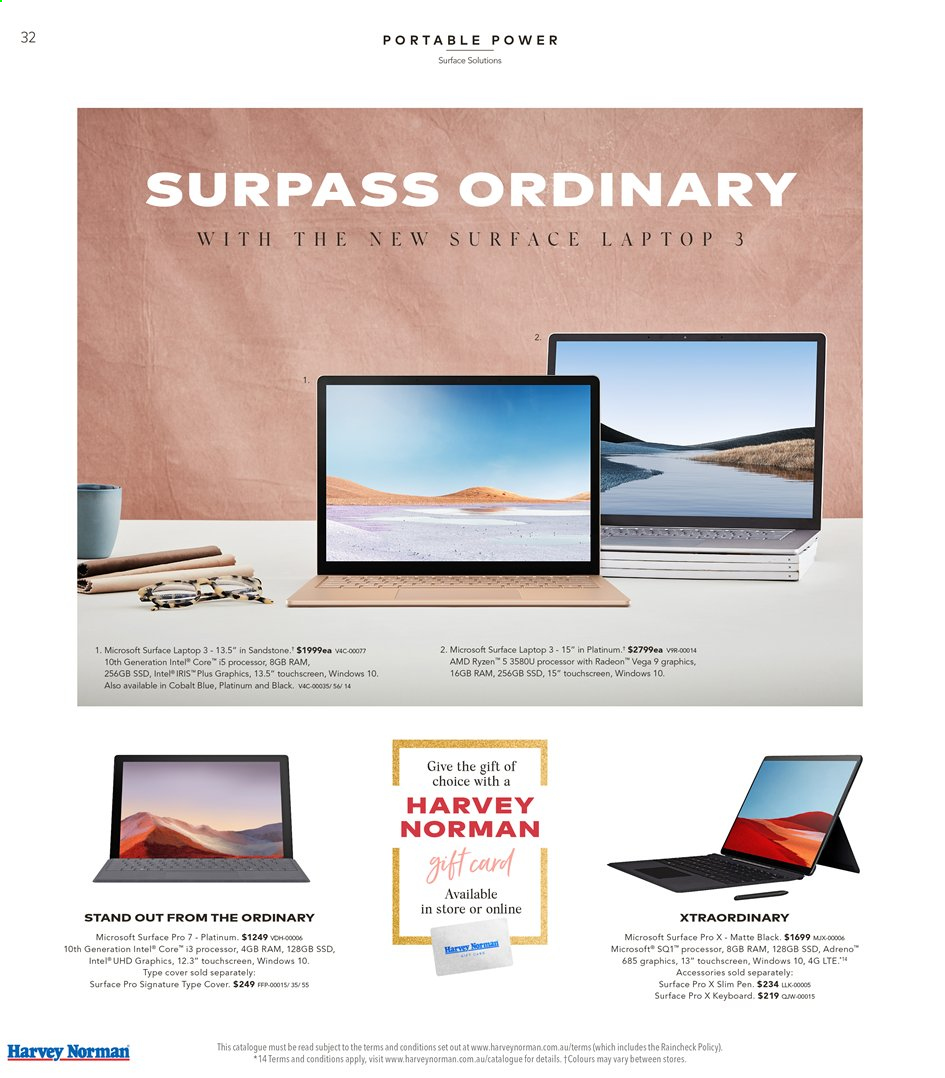 Harvey Norman catalogue  - 15.11.2019 - 1.12.2019. Page 32.