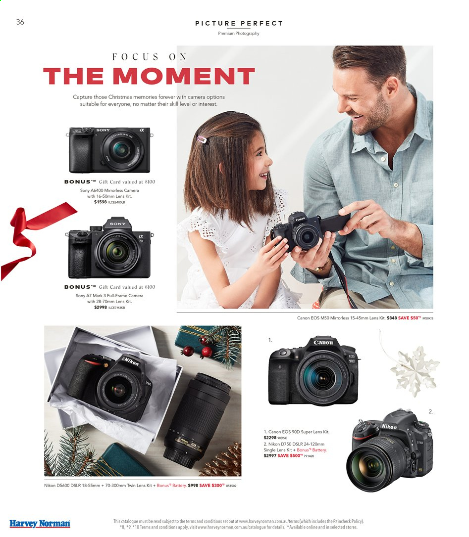 Harvey Norman catalogue  - 15.11.2019 - 1.12.2019. Page 36.