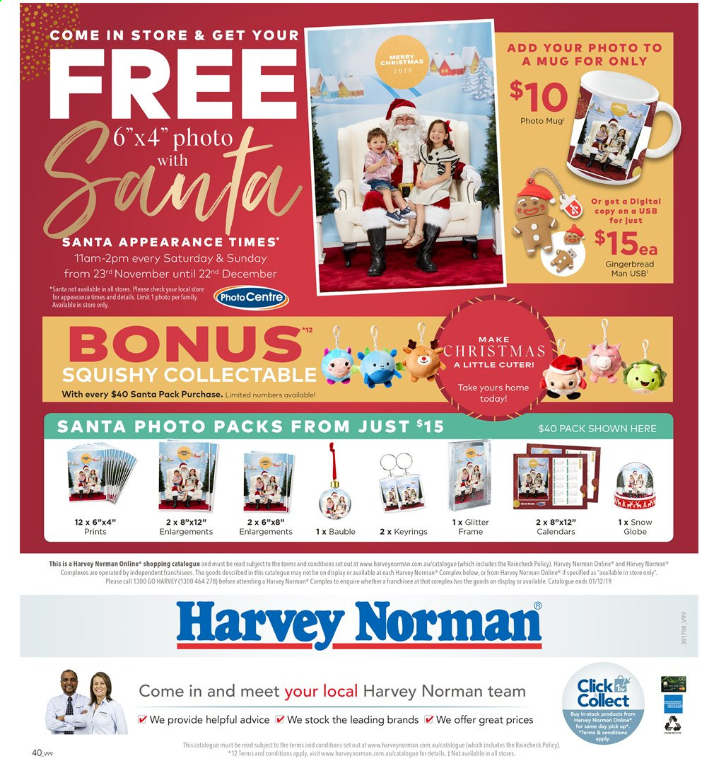 Harvey Norman catalogue  - 15.11.2019 - 1.12.2019. Page 40.