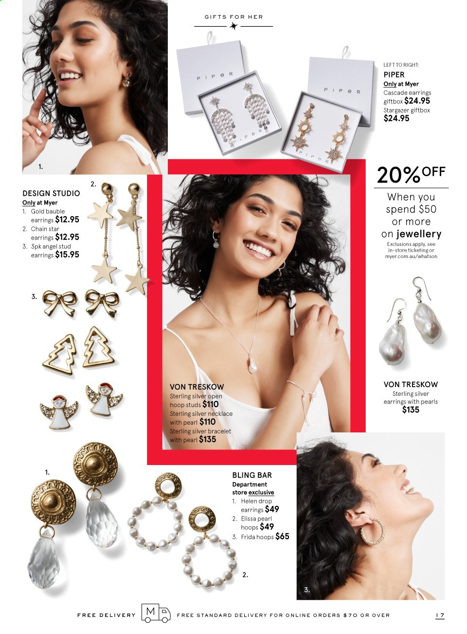 Myer catalogue  - 16.11.2019 - 6.12.2019. Page 17.