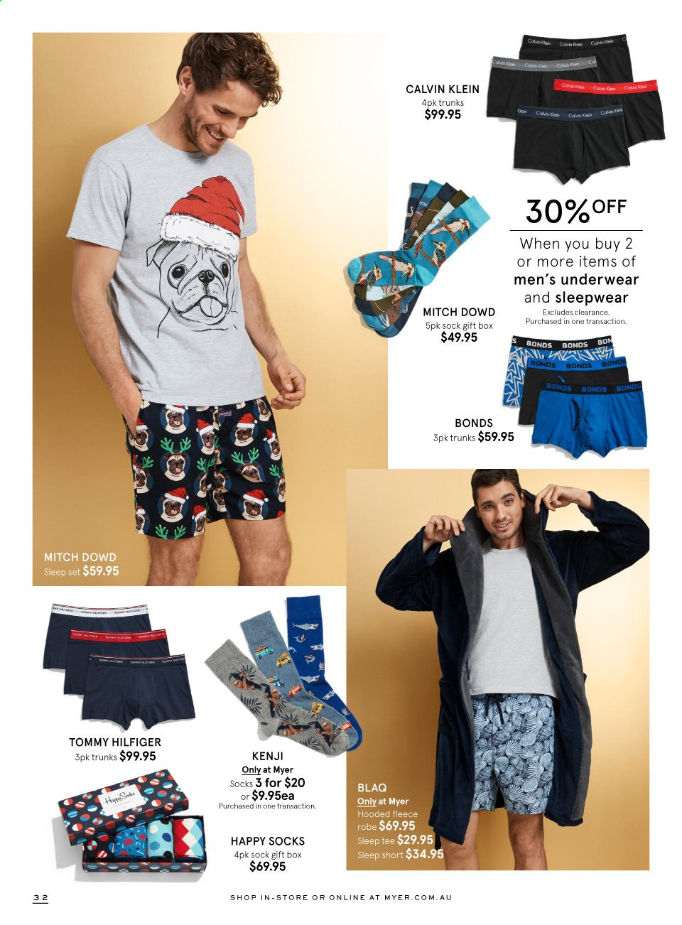 Myer catalogue  - 16.11.2019 - 6.12.2019. Page 32.