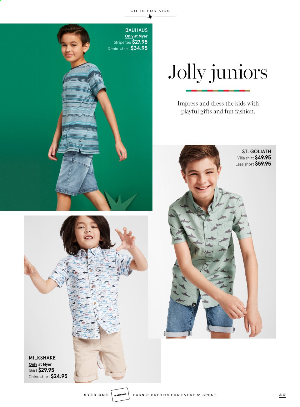 Myer catalogue  - 16.11.2019 - 6.12.2019. Page 39.