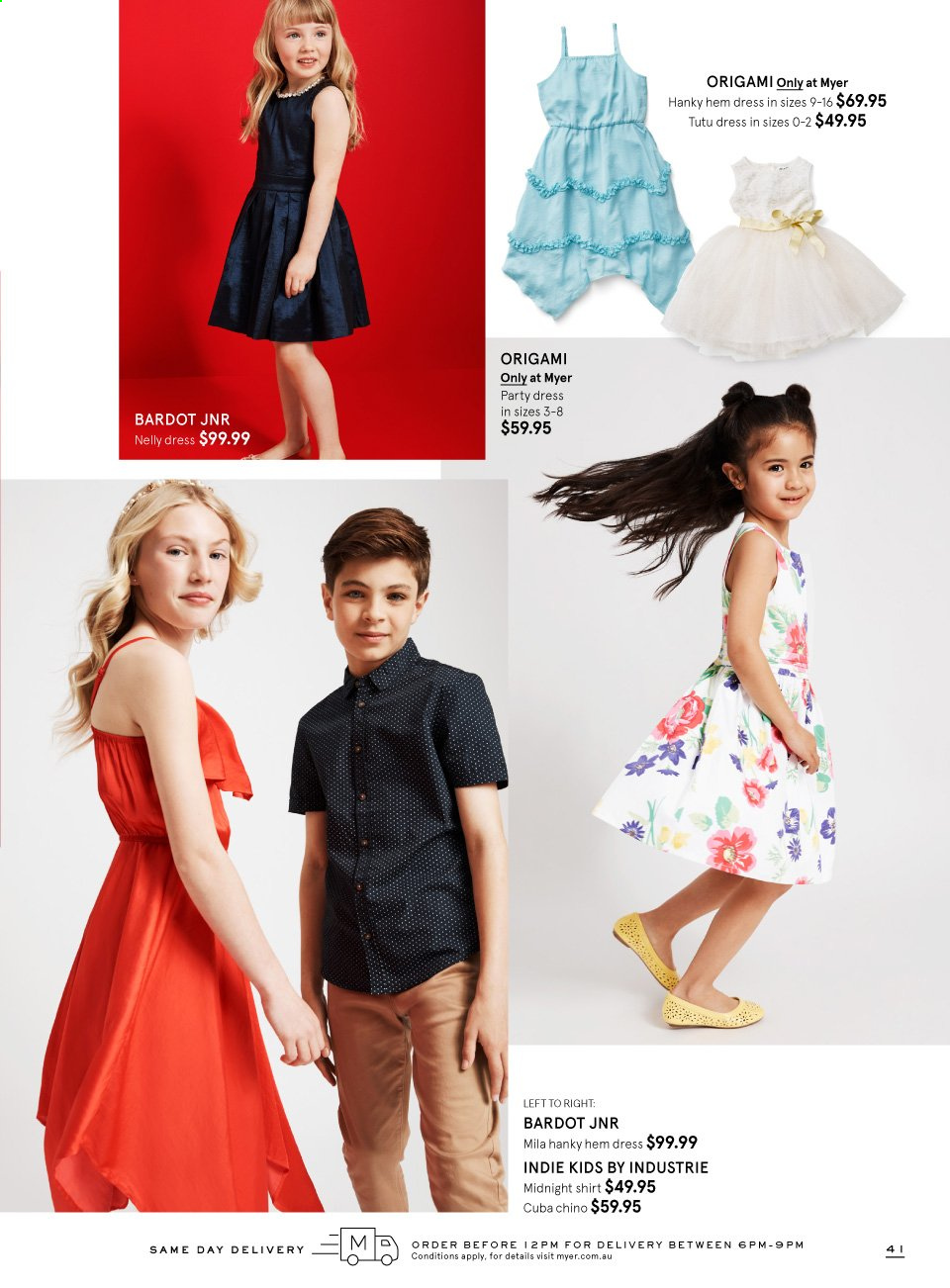 Myer catalogue  - 16.11.2019 - 6.12.2019. Page 41.