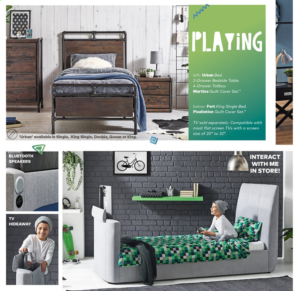 Harvey Norman catalogue  - 15.11.2019 - 28.2.2020. Page 10.