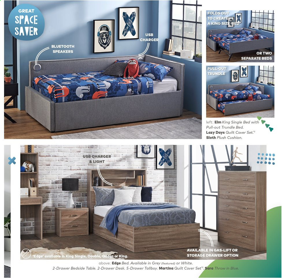 Harvey Norman catalogue  - 15.11.2019 - 28.2.2020. Page 11.
