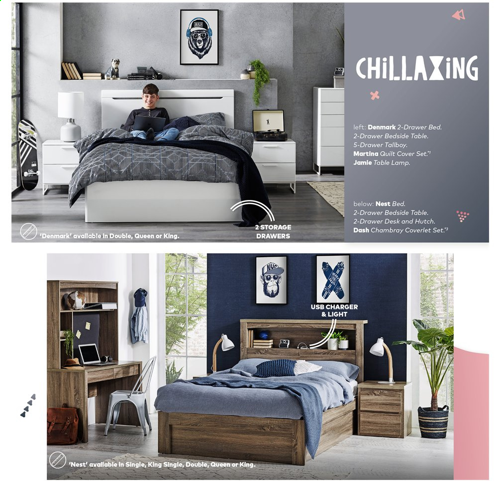 Harvey Norman catalogue  - 15.11.2019 - 28.2.2020. Page 14.
