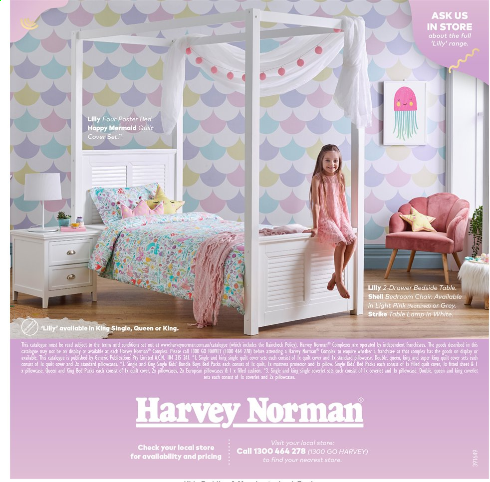 Harvey Norman catalogue  - 15.11.2019 - 28.2.2020. Page 16.
