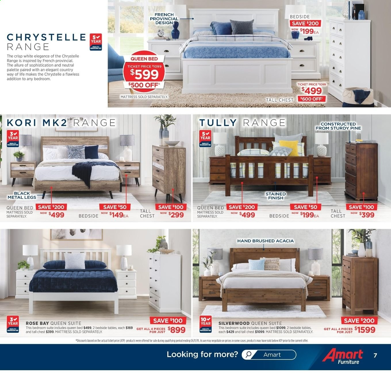Amart Furniture catalogue  - 20.11.2019 - 10.12.2019. Page 7.
