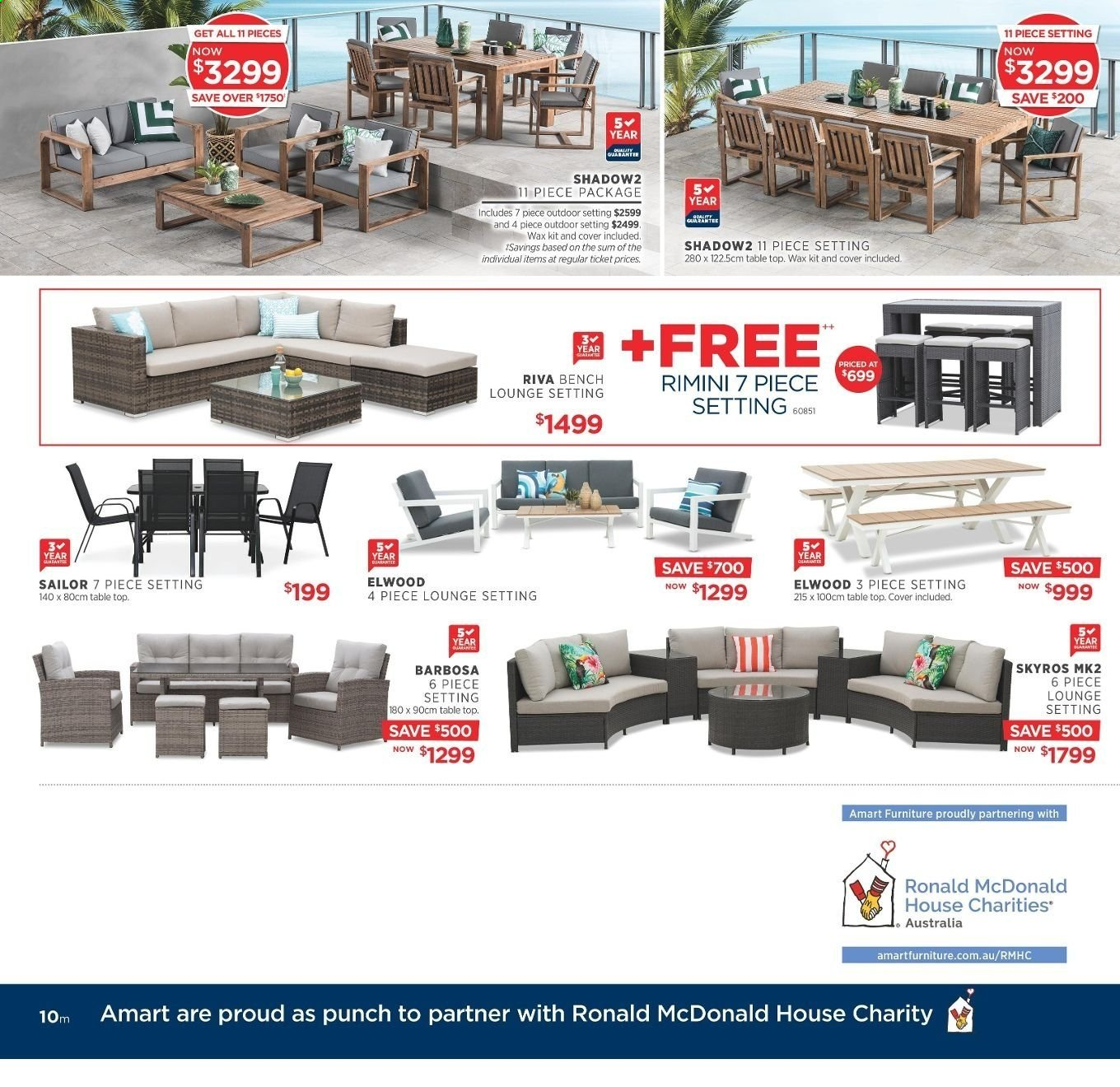 Amart Furniture catalogue  - 20.11.2019 - 10.12.2019. Page 10.