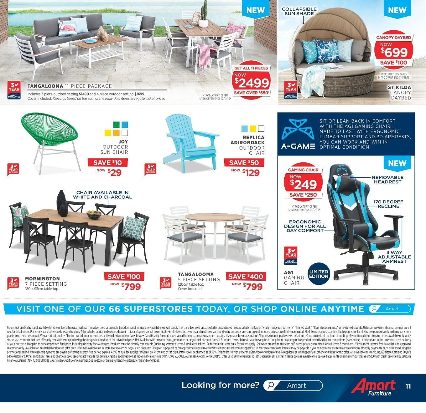 Amart Furniture catalogue  - 20.11.2019 - 10.12.2019. Page 11.