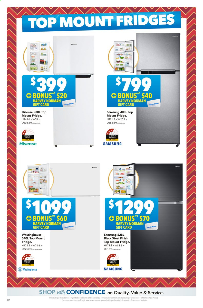 Harvey Norman catalogue  - 22.11.2019 - 8.12.2019. Page 2.