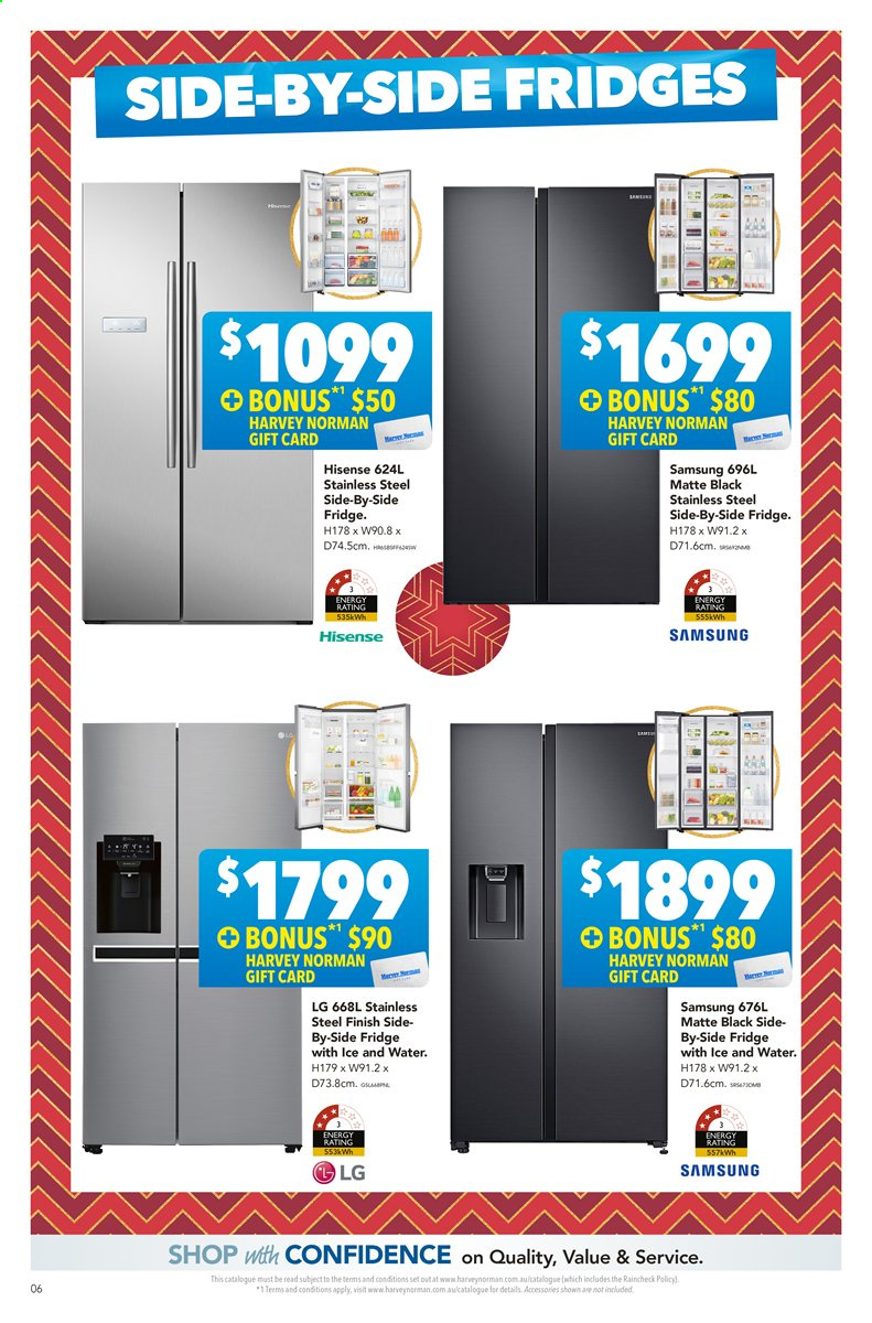 Harvey Norman catalogue  - 22.11.2019 - 8.12.2019. Page 6.