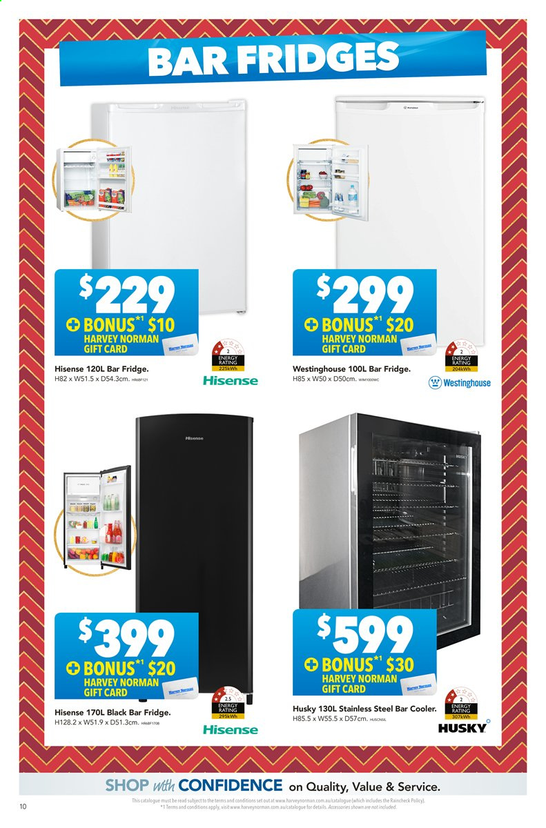 Harvey Norman catalogue  - 22.11.2019 - 8.12.2019. Page 10.