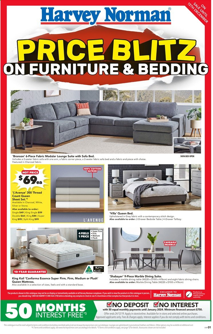 Harvey Norman catalogue  - 26.11.2019 - 15.12.2019. Page 1.