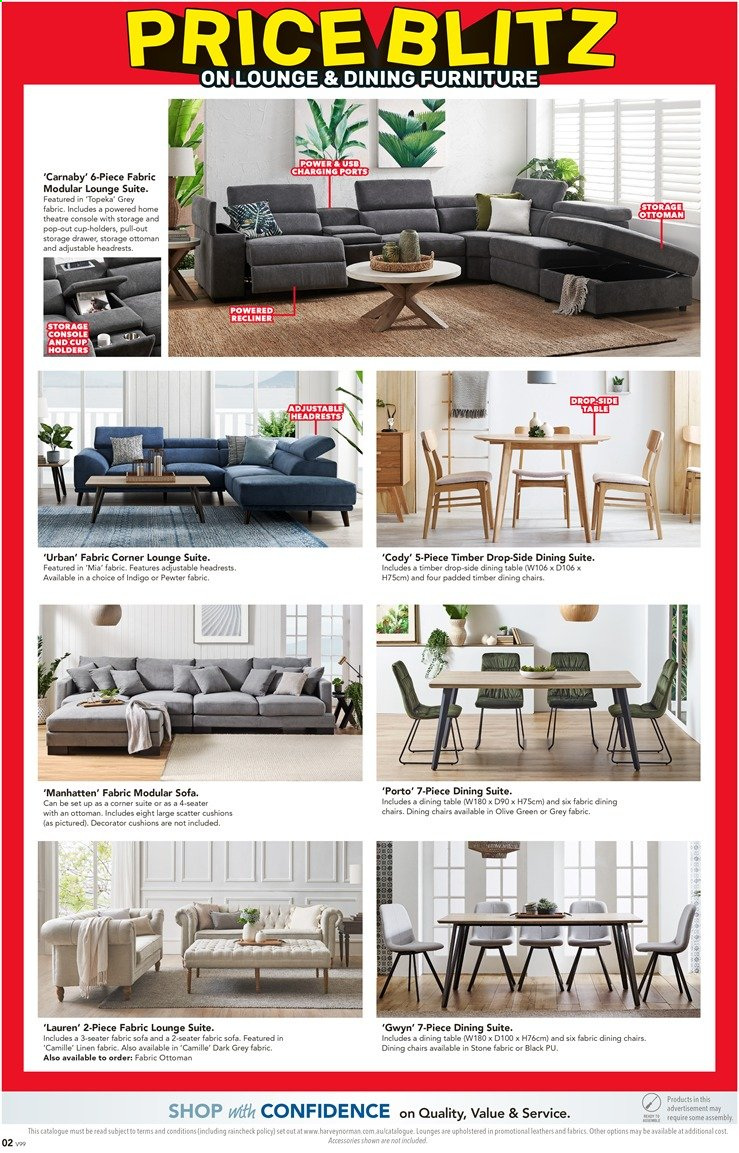 Harvey Norman catalogue  - 26.11.2019 - 15.12.2019. Page 2.