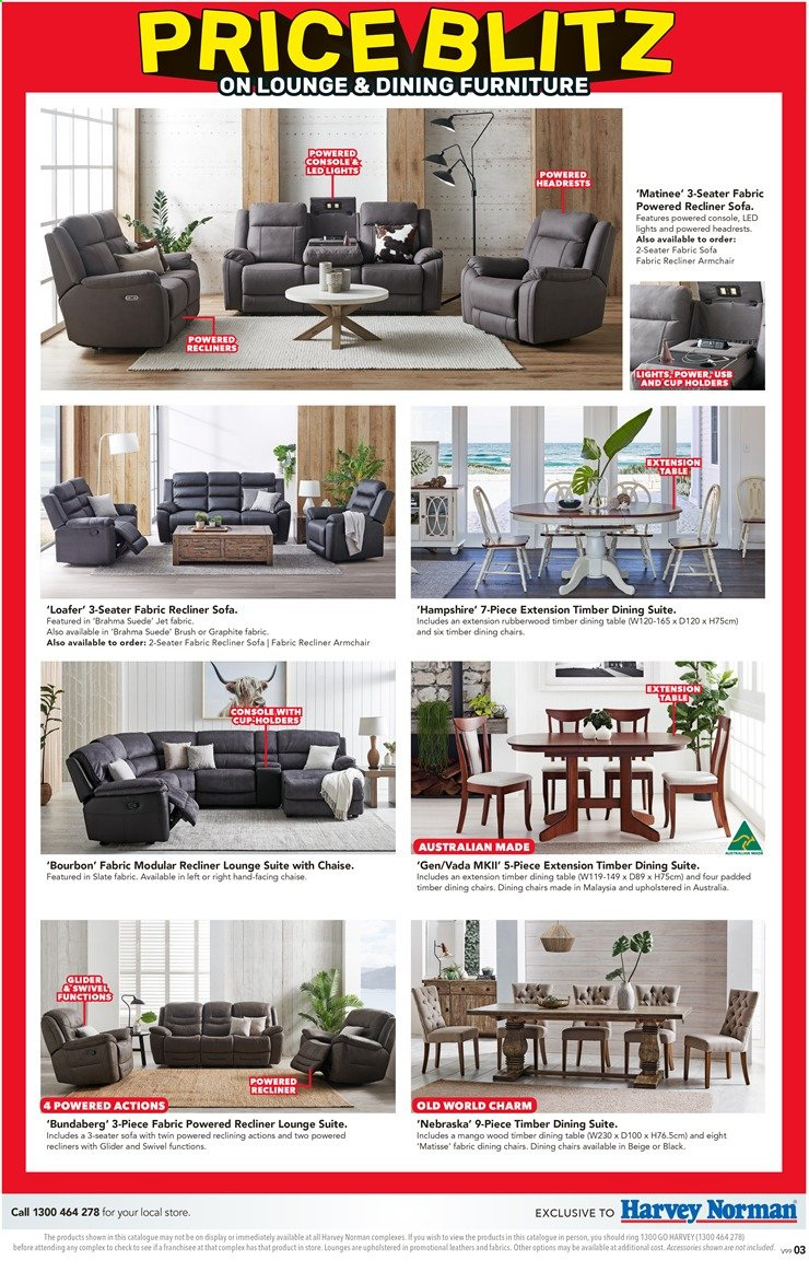 Harvey Norman catalogue  - 26.11.2019 - 15.12.2019. Page 3.