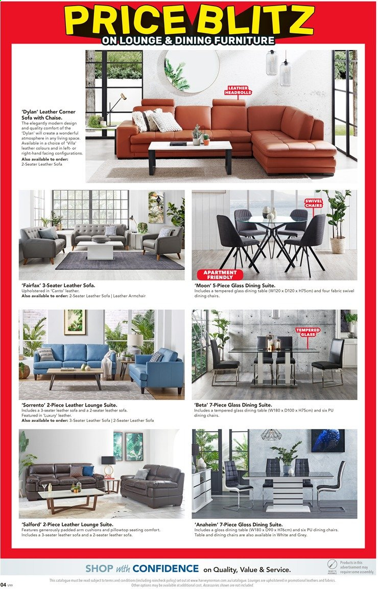 Harvey Norman catalogue  - 26.11.2019 - 15.12.2019. Page 4.