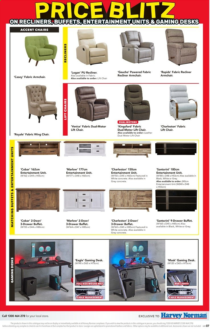 Harvey Norman catalogue  - 26.11.2019 - 15.12.2019. Page 7.