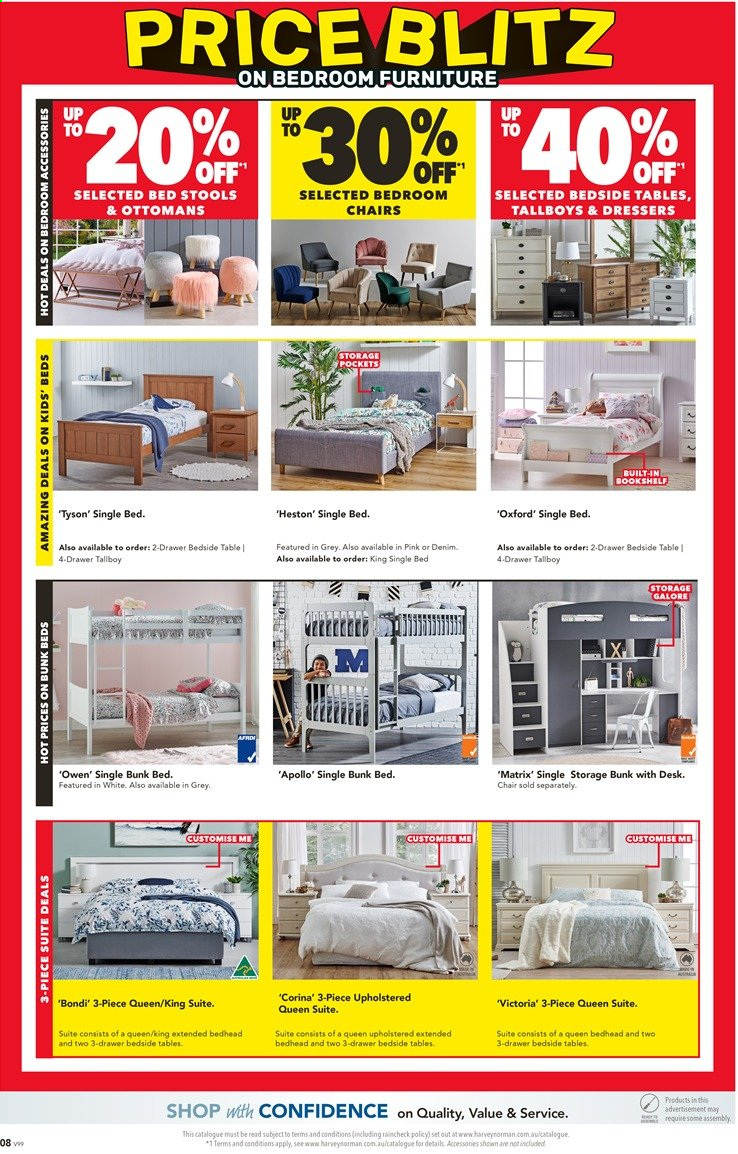 Harvey Norman catalogue  - 26.11.2019 - 15.12.2019. Page 8.