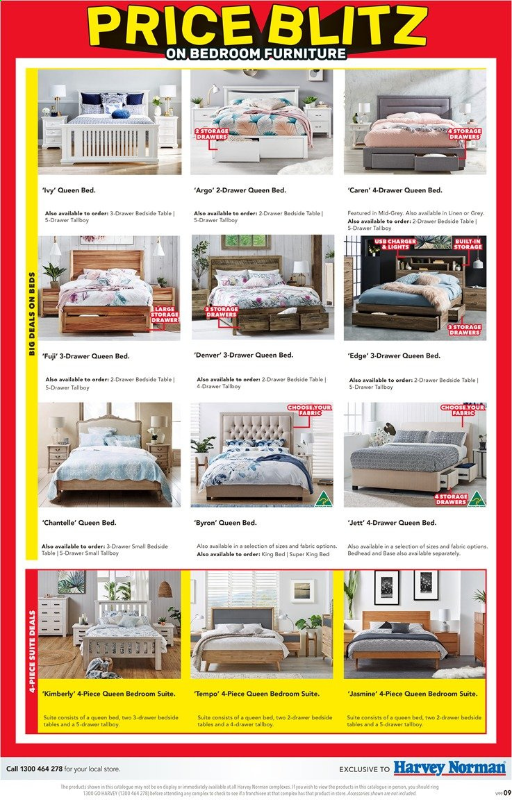 Harvey Norman catalogue  - 26.11.2019 - 15.12.2019. Page 9.