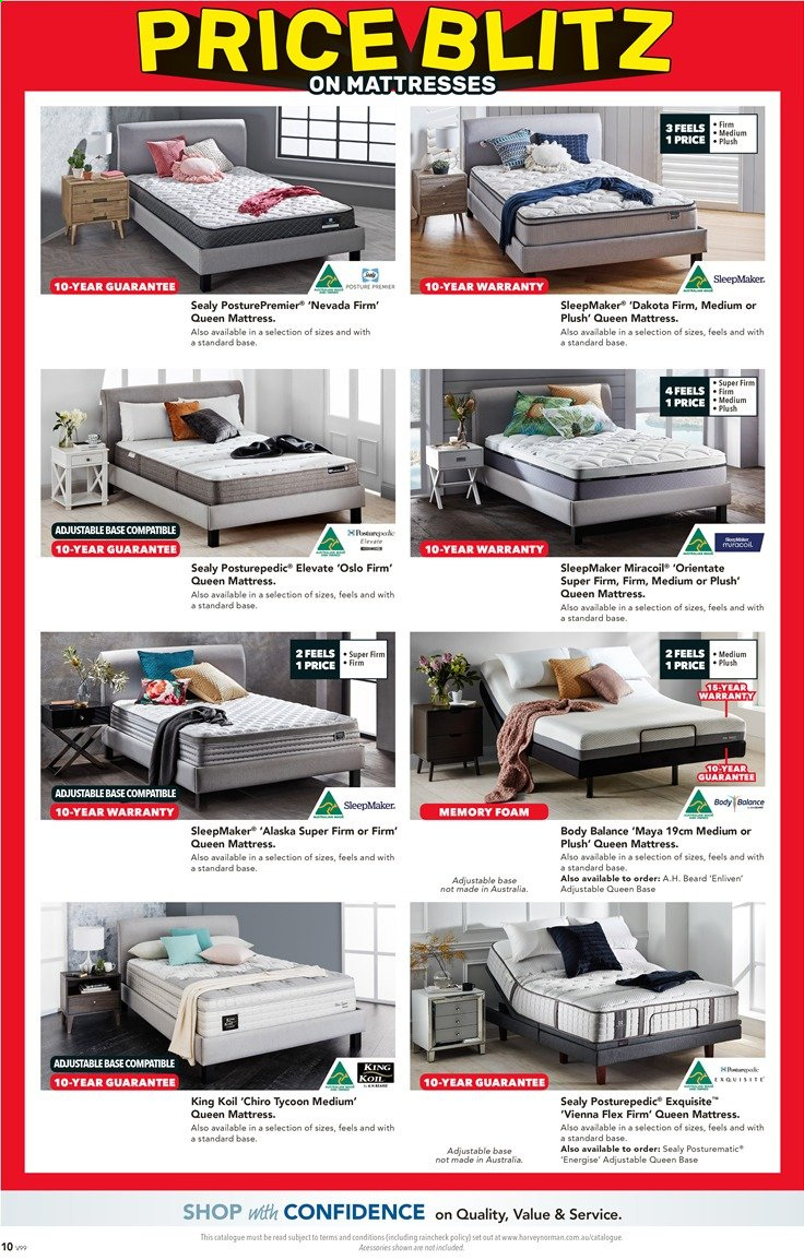 Harvey Norman catalogue  - 26.11.2019 - 15.12.2019. Page 10.