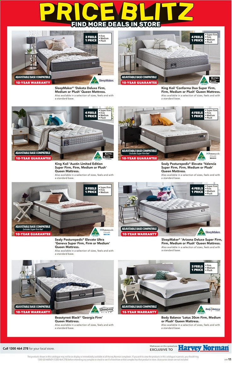 Harvey Norman catalogue  - 26.11.2019 - 15.12.2019. Page 11.