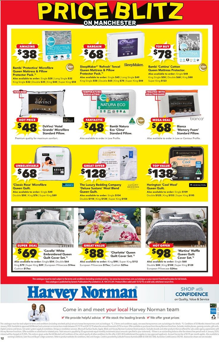 Harvey Norman catalogue  - 26.11.2019 - 15.12.2019. Page 12.
