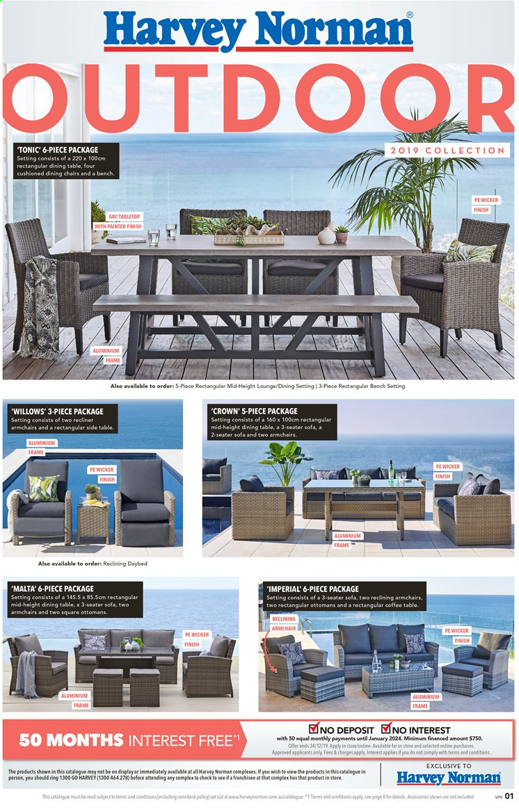 Harvey Norman catalogue  - 3.12.2019 - 24.12.2019. Page 1.