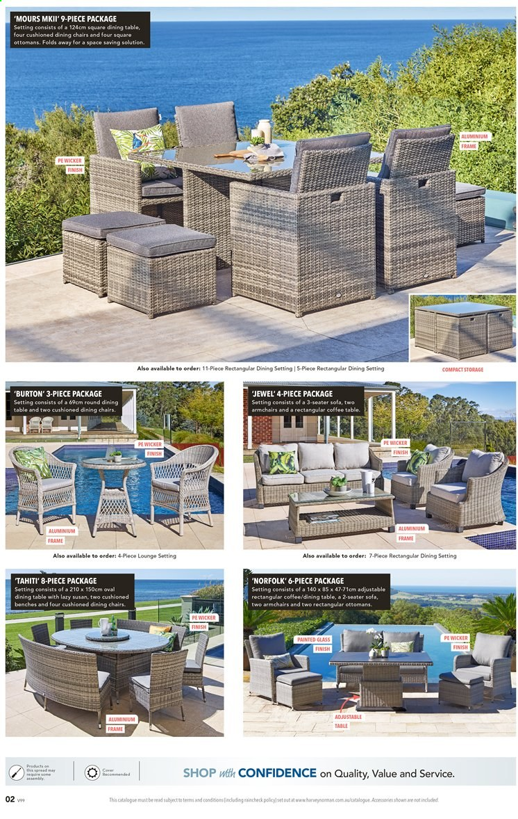 Harvey Norman catalogue  - 3.12.2019 - 24.12.2019. Page 2.