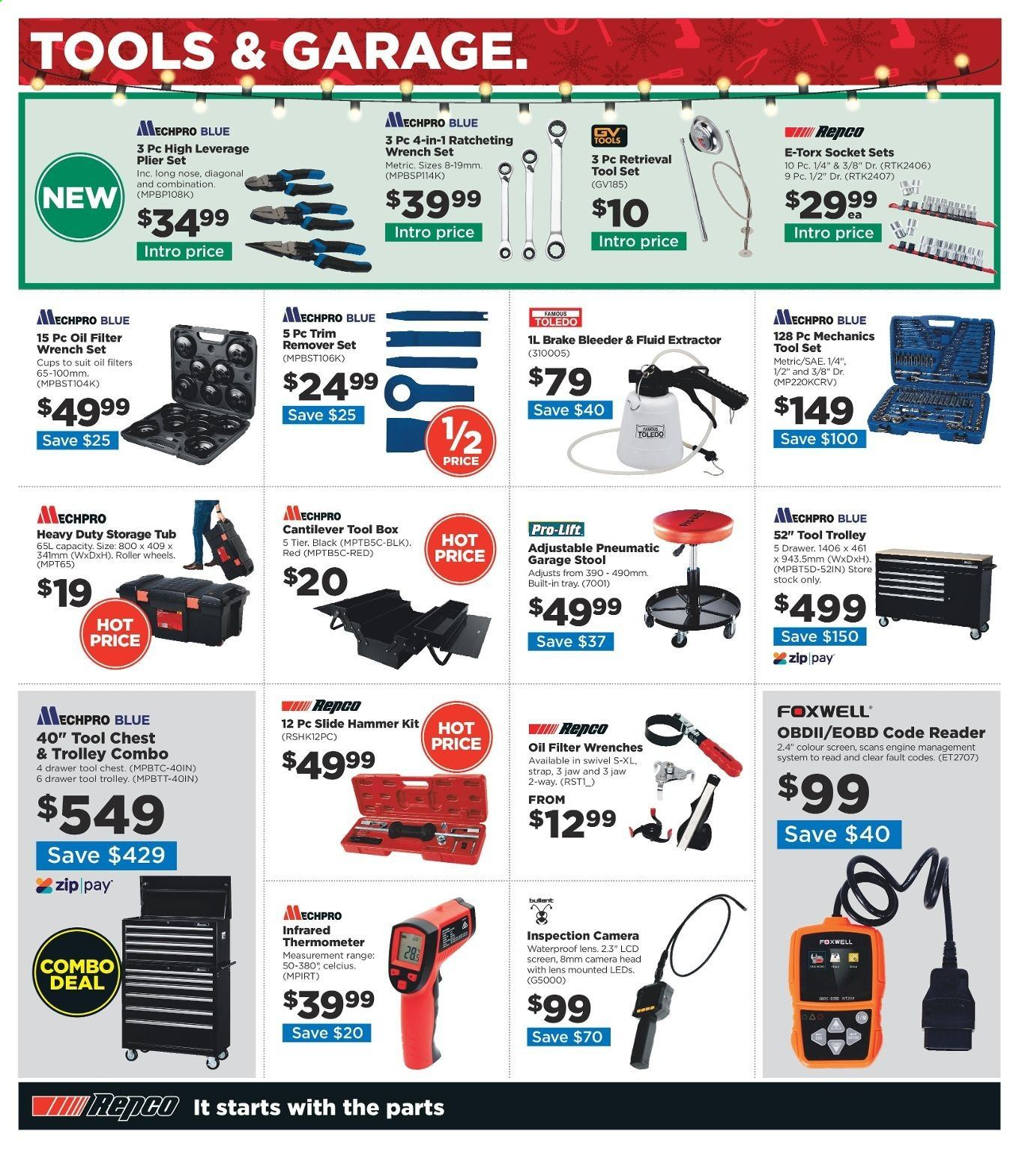 Repco catalogue  - 16.12.2019 - 22.12.2019. Page 4.