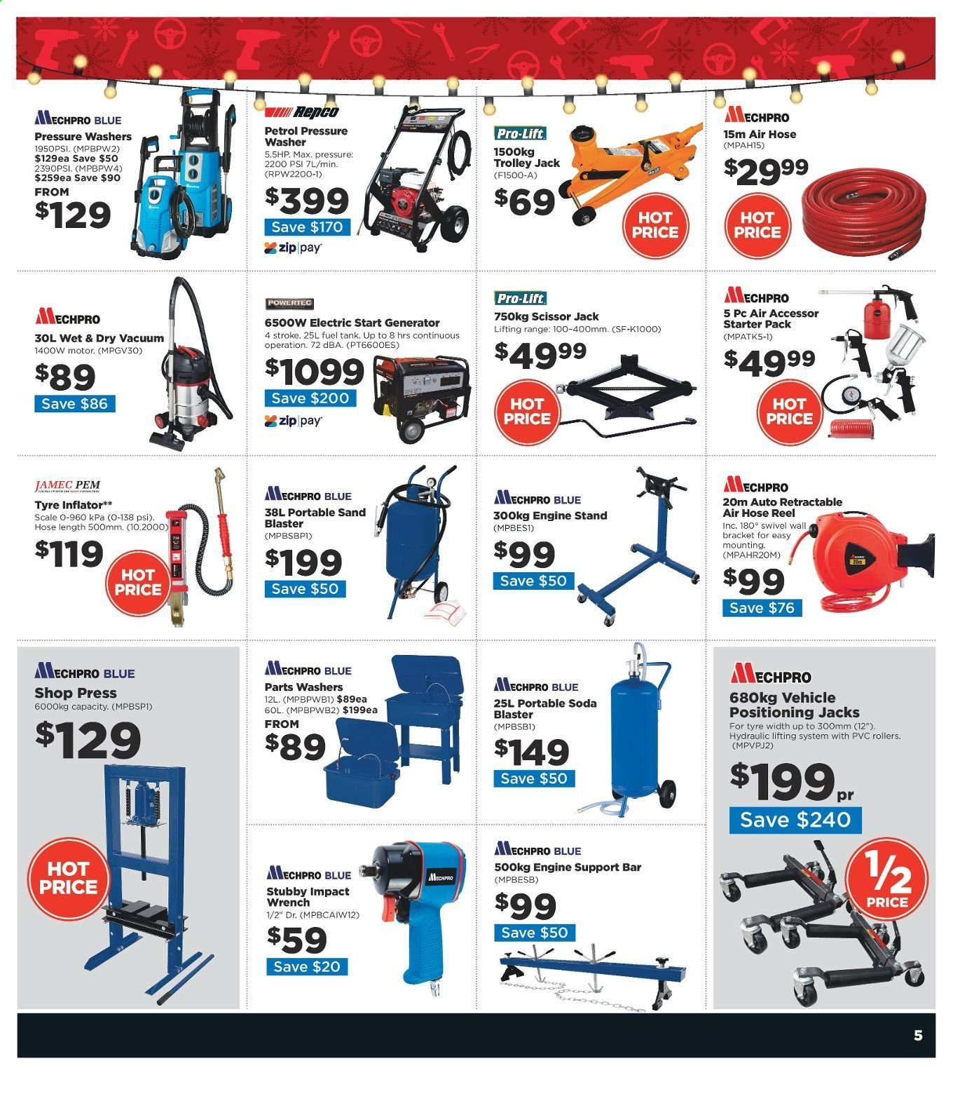 Repco catalogue  - 16.12.2019 - 22.12.2019. Page 5.