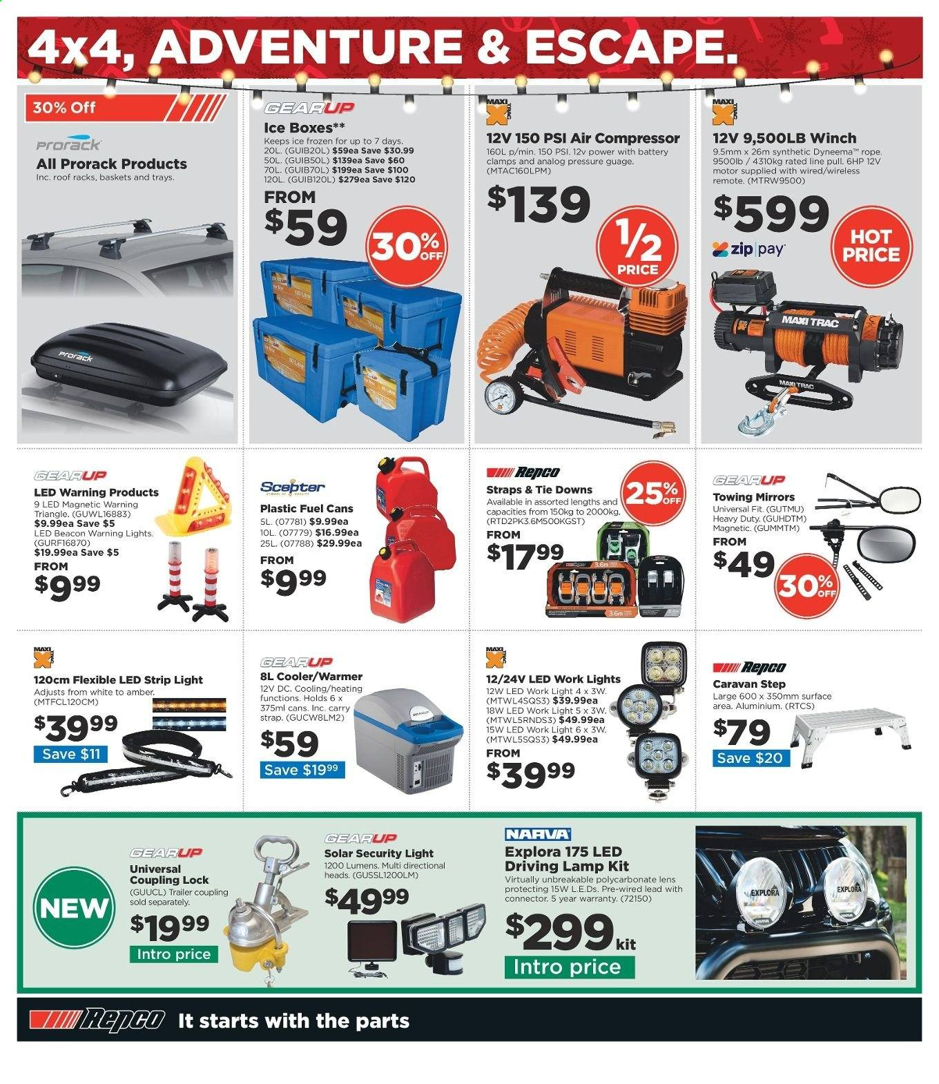 Repco catalogue  - 16.12.2019 - 22.12.2019. Page 8.