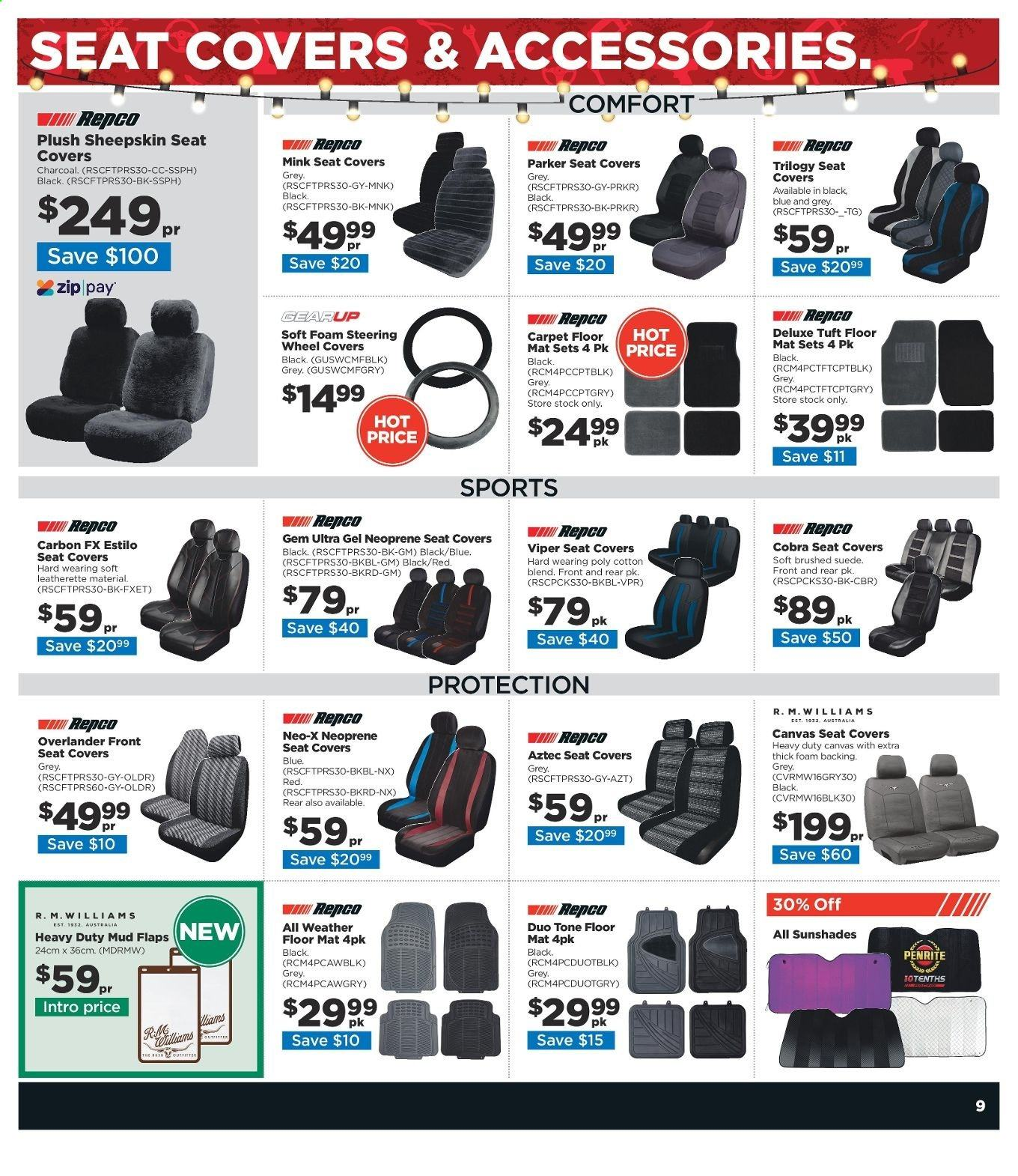 Repco catalogue  - 16.12.2019 - 22.12.2019. Page 9.