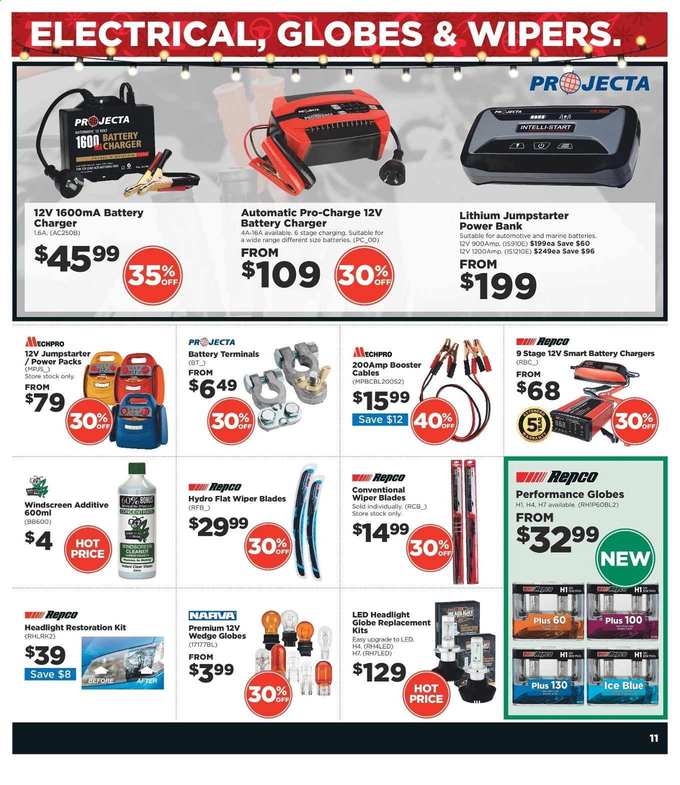 Repco catalogue  - 16.12.2019 - 22.12.2019. Page 11.