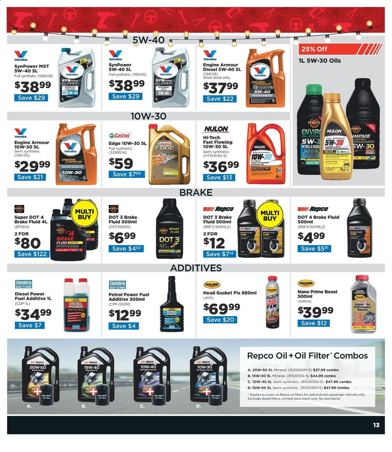 Repco catalogue  - 16.12.2019 - 22.12.2019. Page 13.