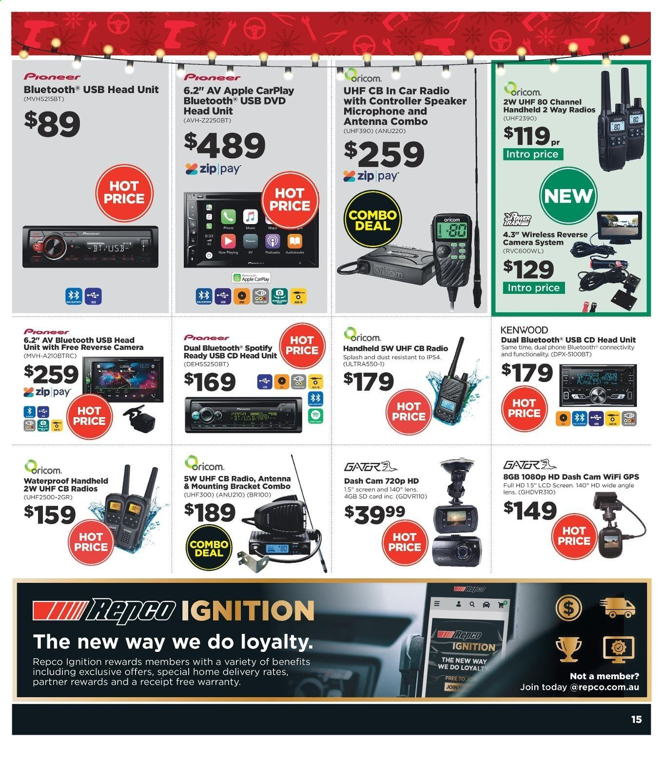 Repco catalogue  - 16.12.2019 - 22.12.2019. Page 15.