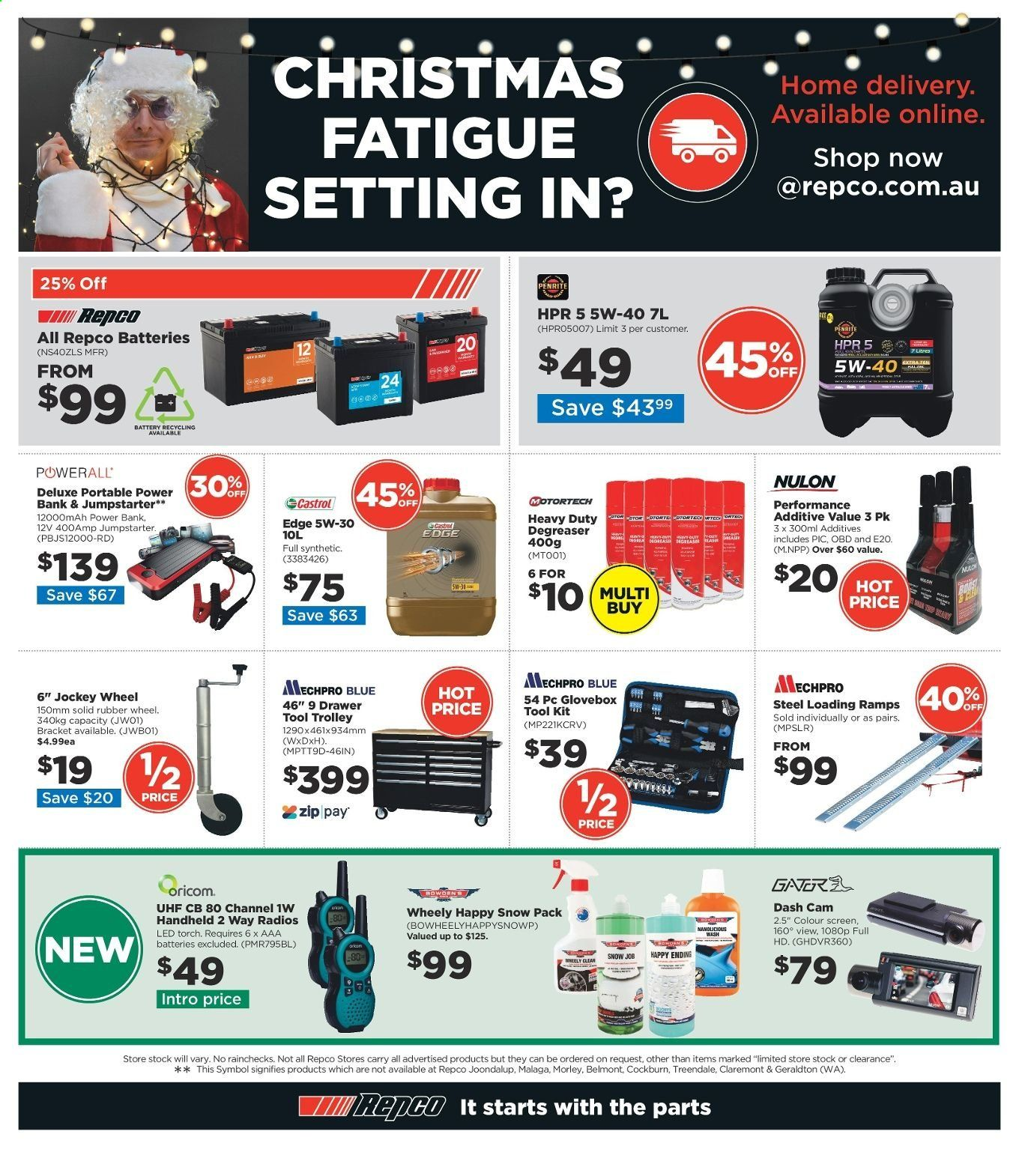Repco catalogue  - 16.12.2019 - 22.12.2019. Page 16.