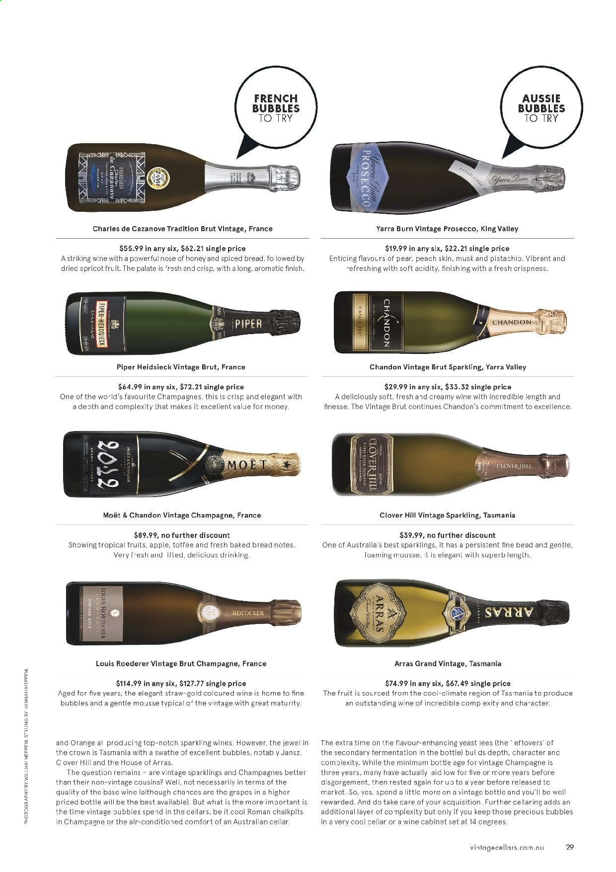 Vintage Cellars catalogue  - 19.2.2020 - 31.3.2020. Page 29.