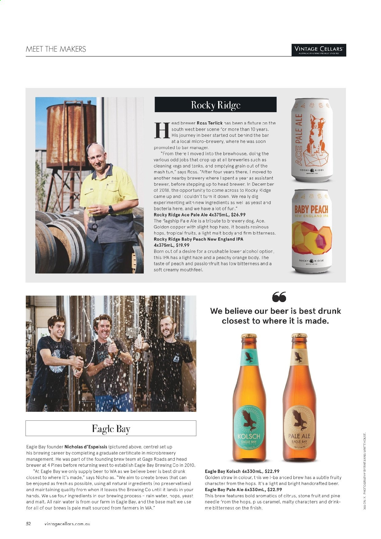 Vintage Cellars catalogue  - 19.2.2020 - 31.3.2020. Page 52.