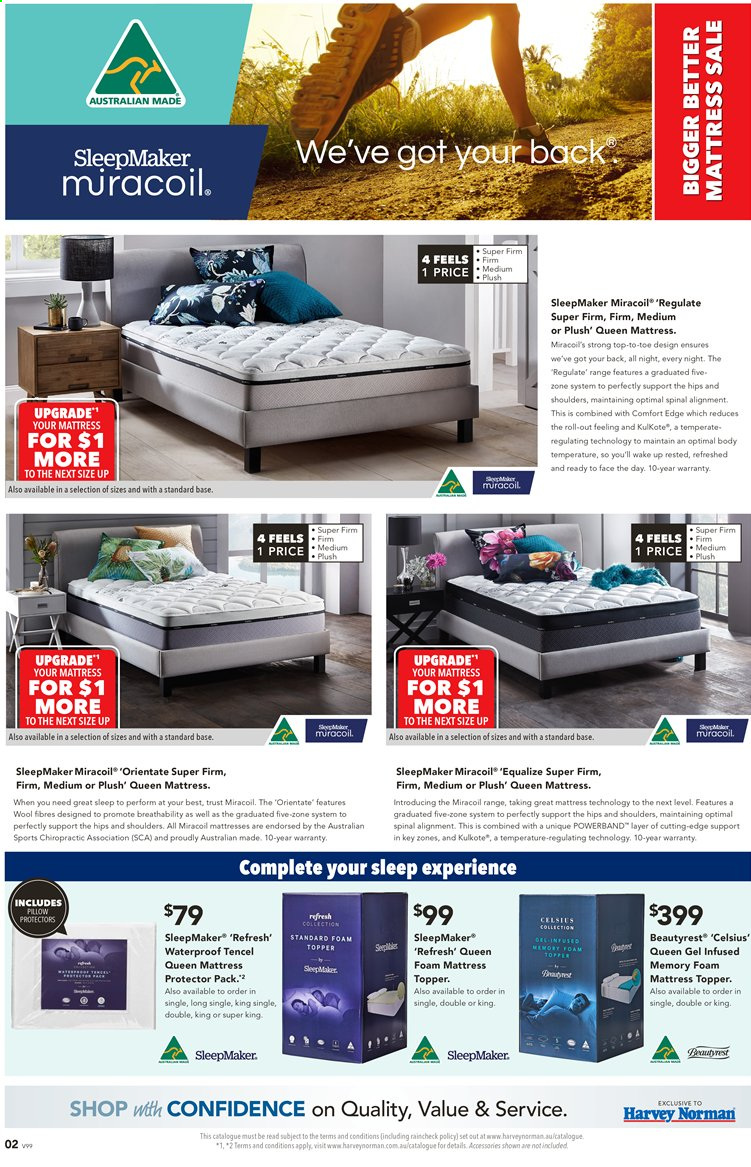 Harvey Norman catalogue  - 28.2.2020 - 22.3.2020. Page 2.