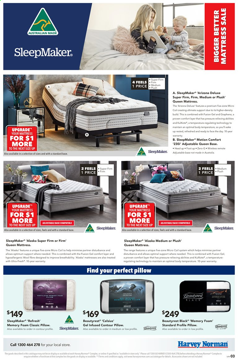 Harvey Norman catalogue  - 28.2.2020 - 22.3.2020. Page 3.