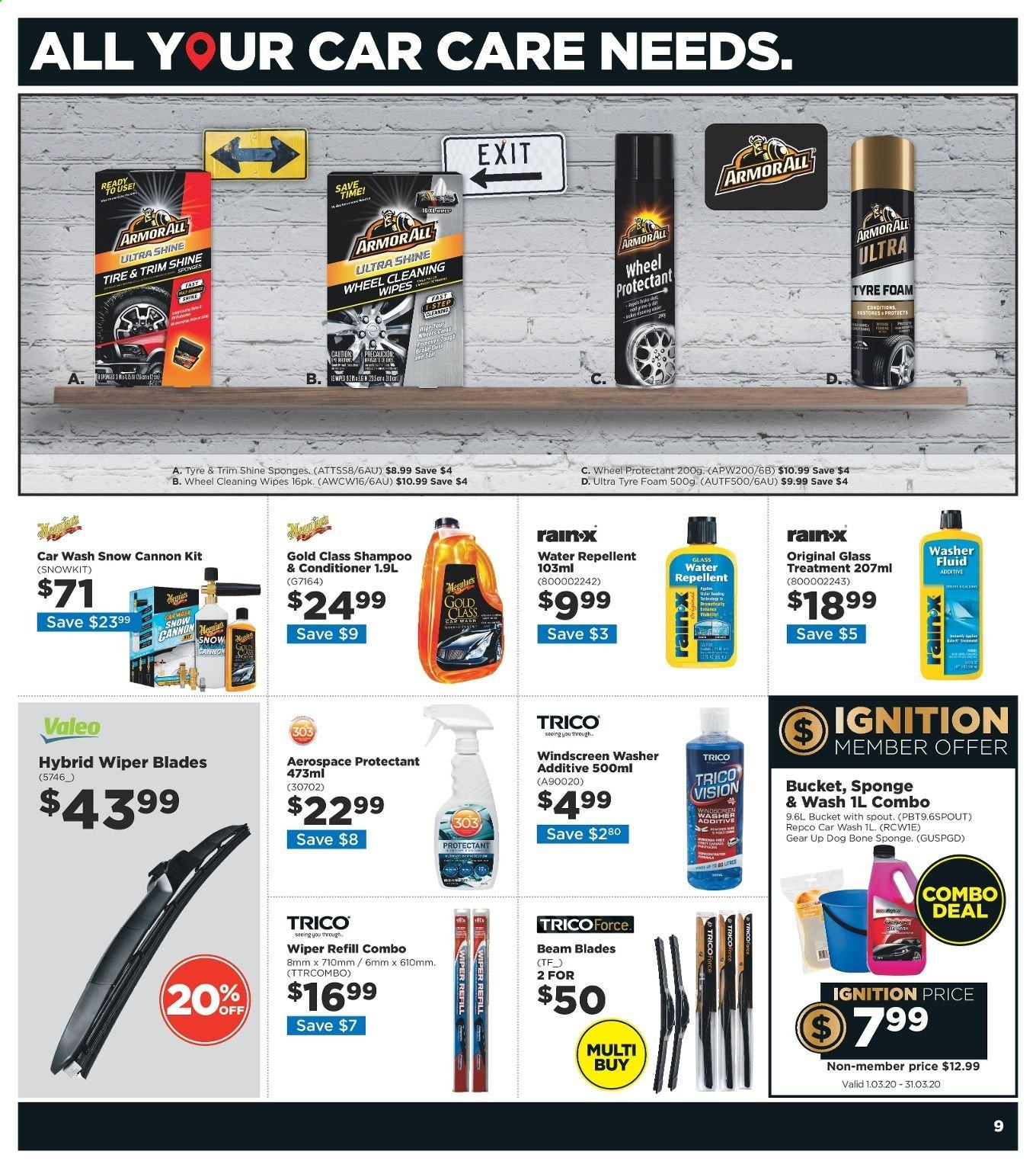 Repco catalogue  - 4.3.2020 - 17.3.2020. Page 9.