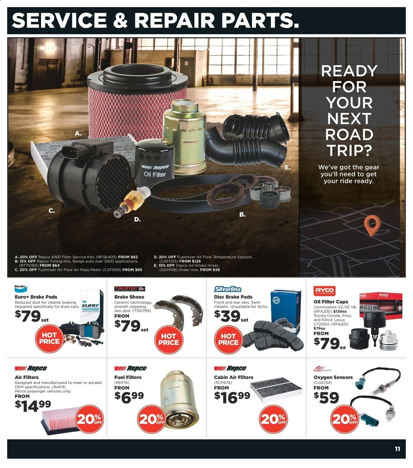 Repco catalogue  - 4.3.2020 - 17.3.2020. Page 11.