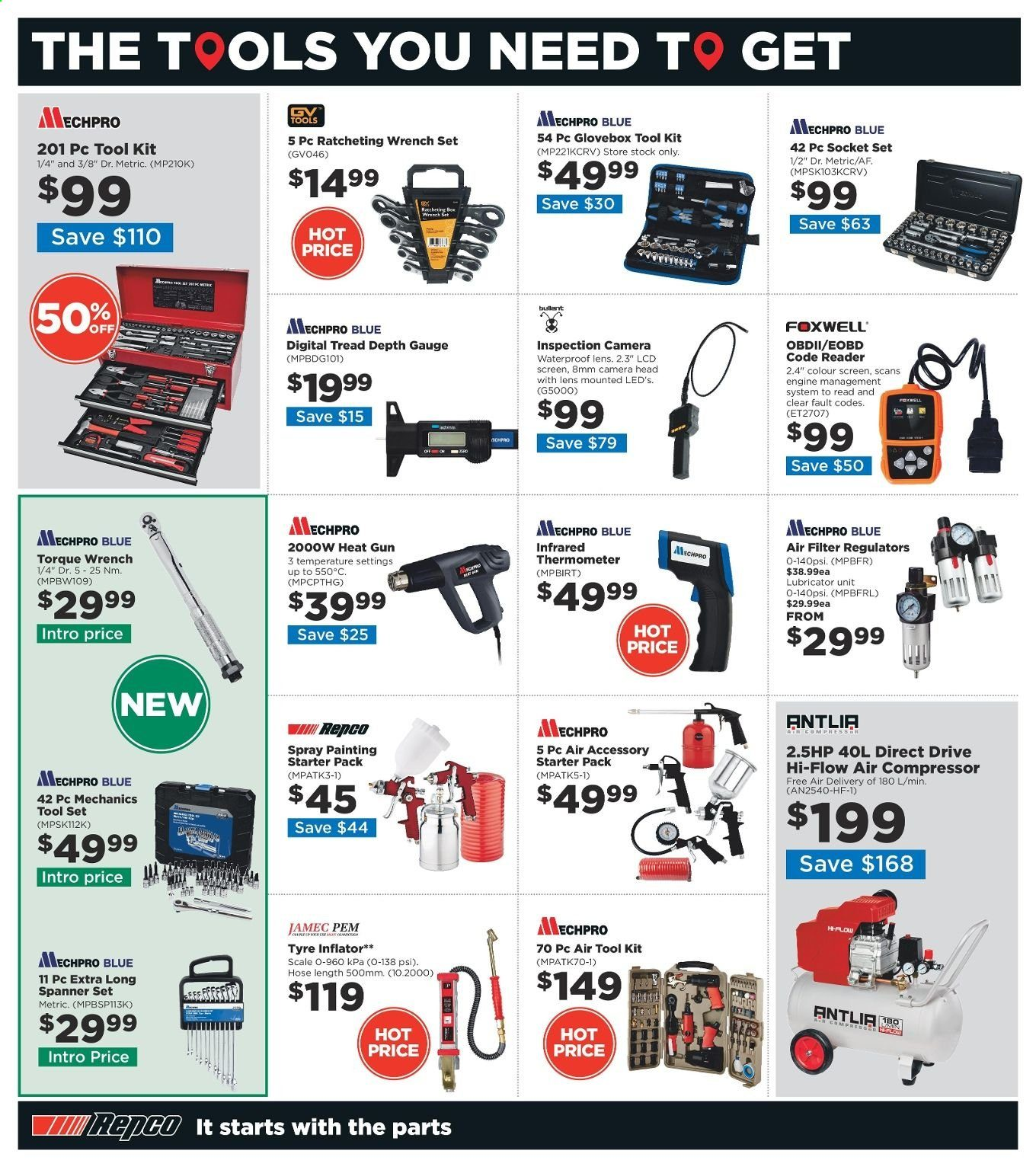 Repco catalogue  - 4.3.2020 - 17.3.2020. Page 14.