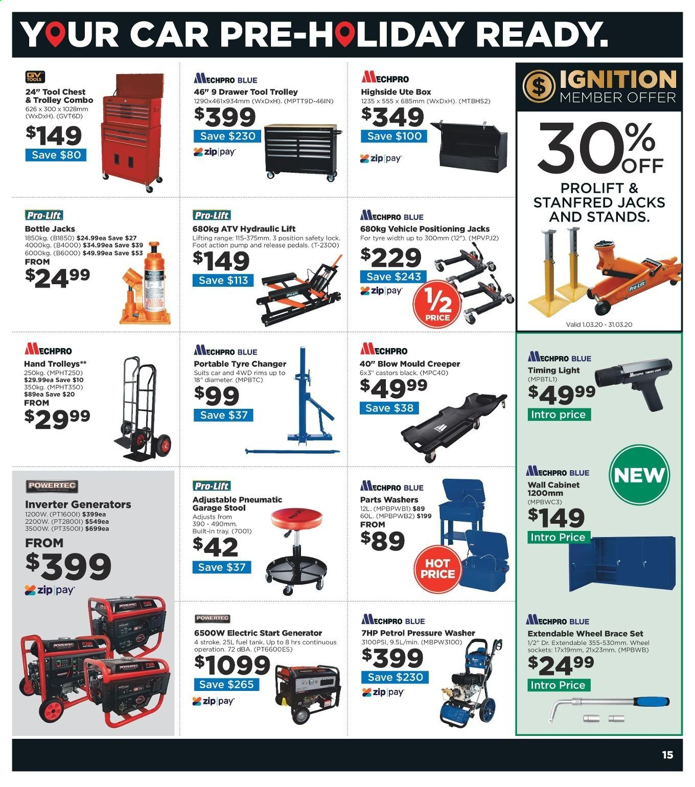 Repco catalogue  - 4.3.2020 - 17.3.2020. Page 15.